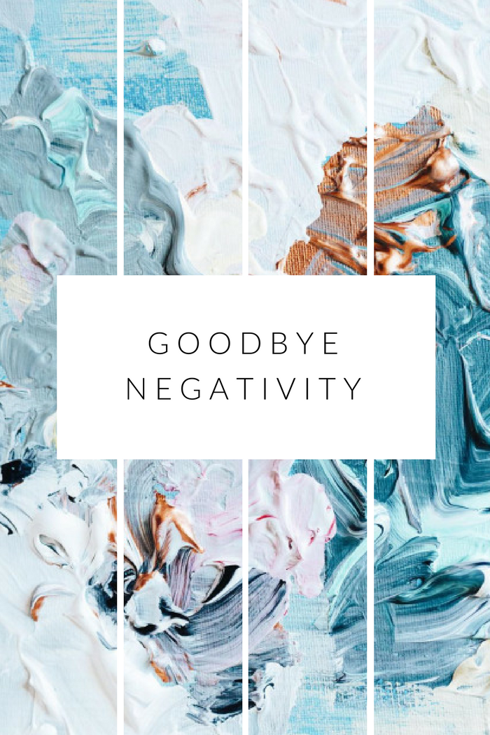 letting go of the negative thoughts