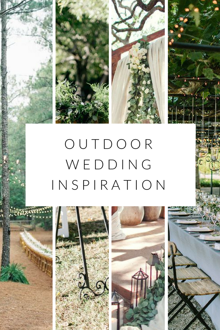 a little outdoor wedding inspiration
