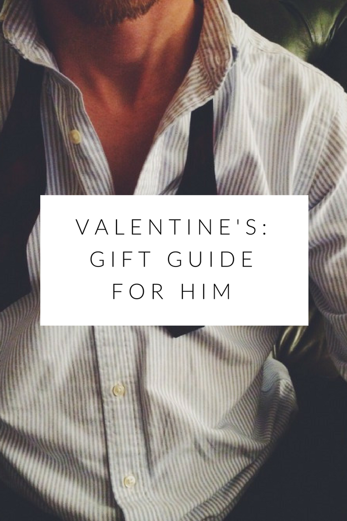 Valentine's: Gift Guide For Him