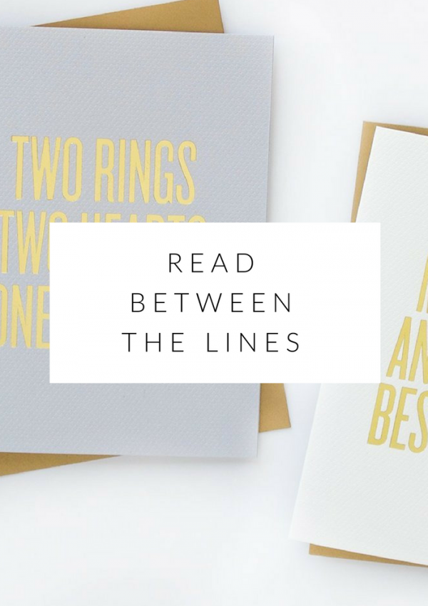 shop love: read between the lines