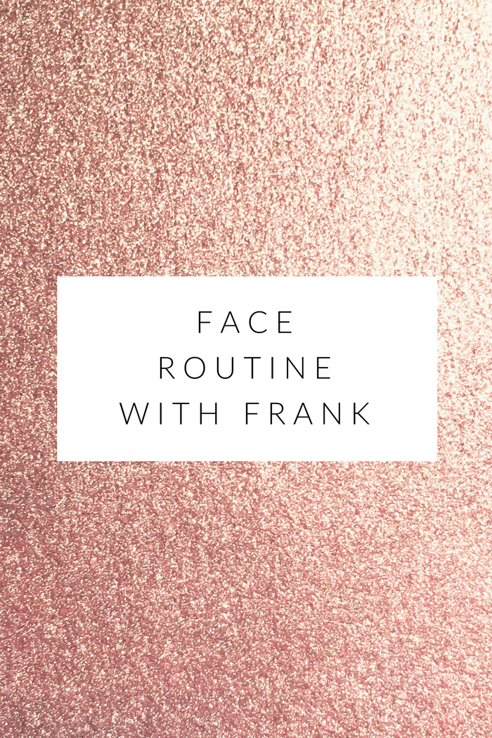 frank coffee scrub lovin' on your face