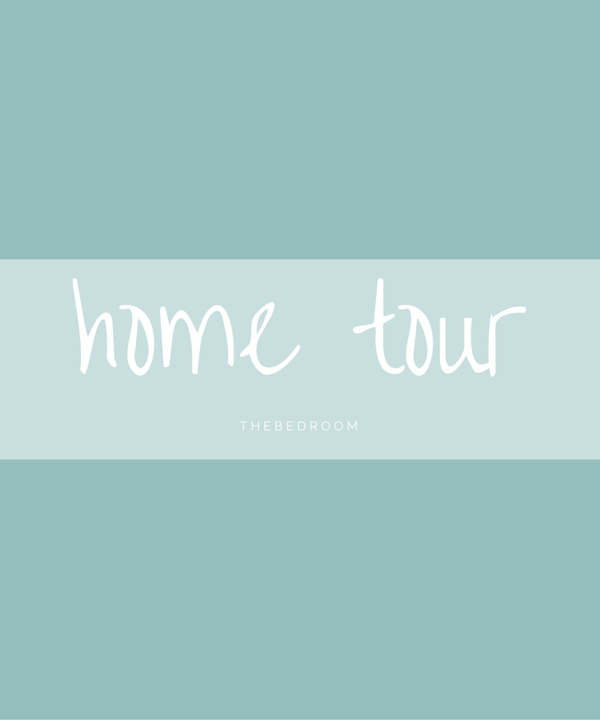 home tour – the bedroom
