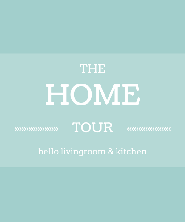 home tour: the kitchen/living room