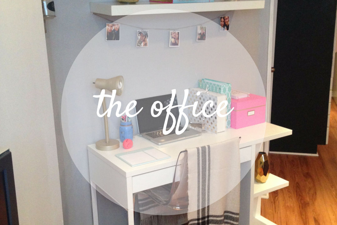 "home tour: the ""office"""
