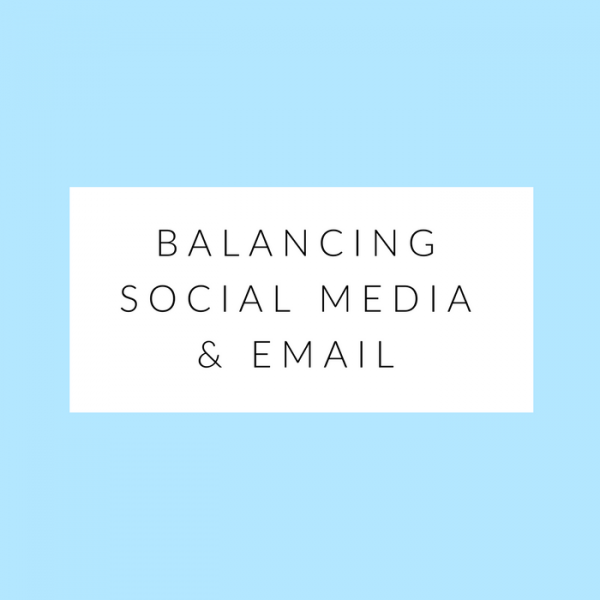 balancing social media and email mimosas and pumps lifestyle blog