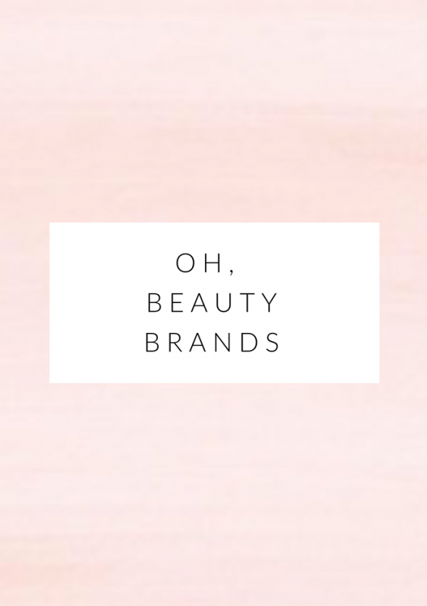 5 all natural beauty brands i'm crushing on