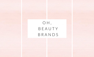 beauty brands i'm crushing on