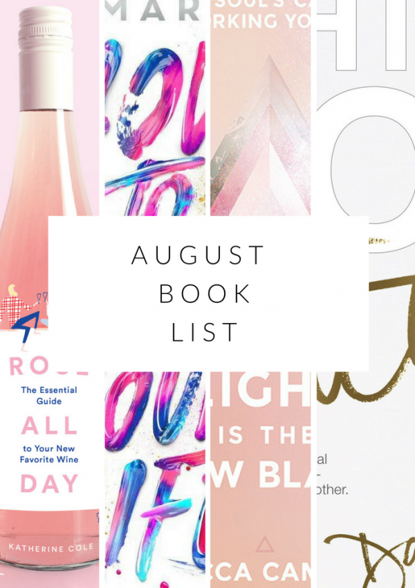 my august book list