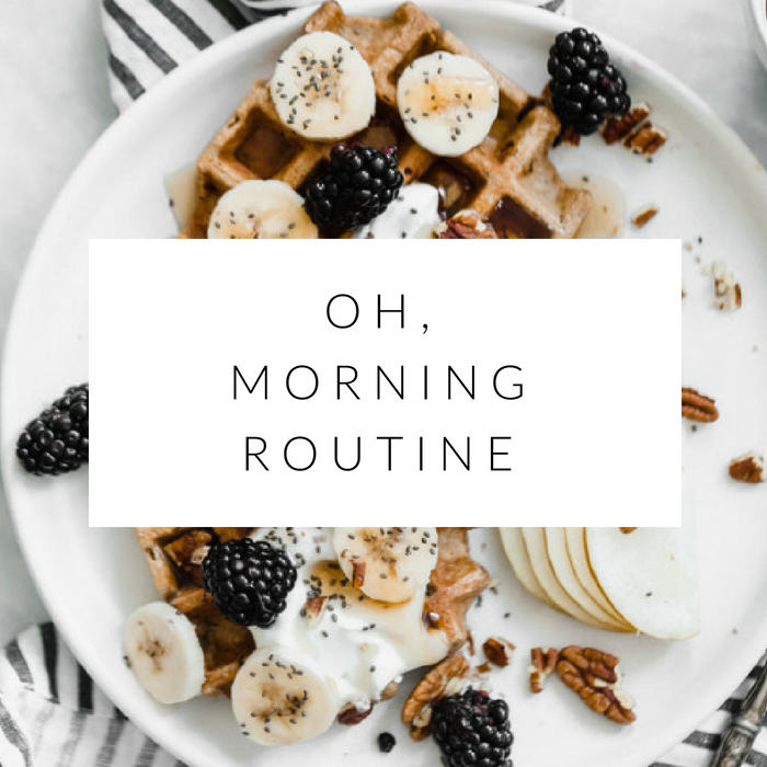 6 things i do before work: my morning routine